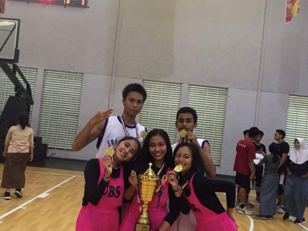 Team Bola Basket SMA Yadika 6