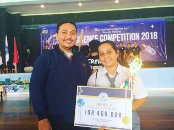 JUARA SPEECH CONTEST COMPETITION SMA YADIKA 6 DI SEKOLAH PEMBANGUNAN JAYA TAHUN 2018