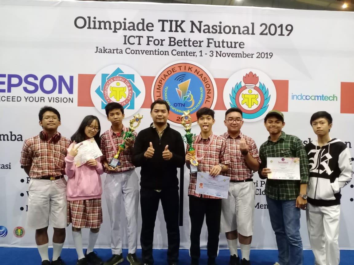 PEMENANG OLIMPIADE TIK NASIONAL (OTN) 2019