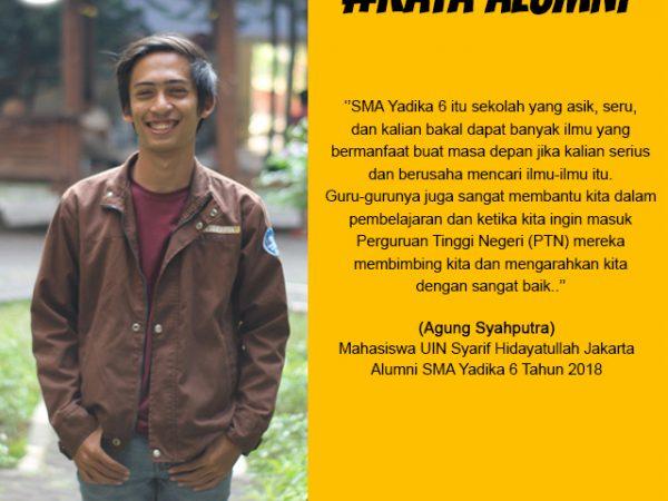 Agung Syahputra-Mahasiswa UIN Syarif Hidayatullah Jakarta